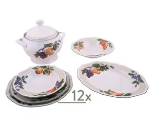 Set de mesa Antique Orchard - 40 piezas