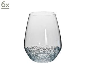 Juego de 6 vasos de agua Chaos