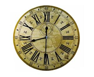 Reloj de pared Mundo antiguo