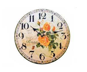 Reloj de pared Rosas