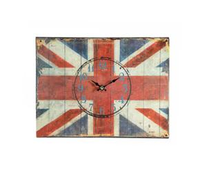 Reloj de pared Union Jack
