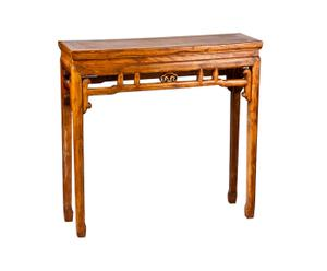 Consola de madera de nogal Oriental