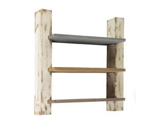 Estantería de madera de abeto oriental