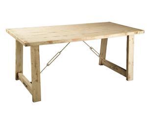 Mesa de comedor de madera de abeto oriental