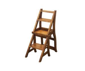 Escaleras de madera dale protagonismo westwing for Silla escalera de madera