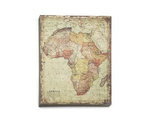 Placa metálica África