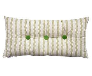Cojín de seda con 3 botones Amorini