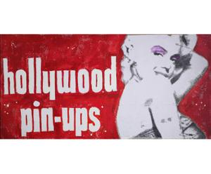 Cuadro Hollywood Pin Up - 50x100