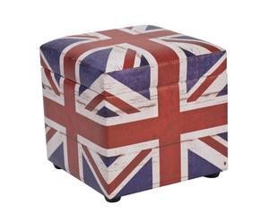 Puf contenedor en PVC – Reino Unido