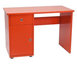 Mesa con cajones – Naranja