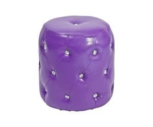 Puf diamante - púrpura