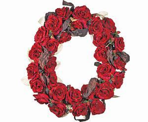 Guirnalda con rosas