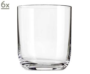Set de 6 vasos de Whisky - 55 CL