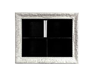 Porta DVD con marco Notorious - Blanco