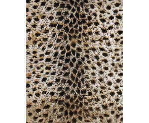 Alfombra Animalier plateada - grande
