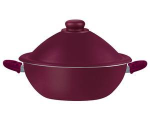 Wok con tapa y rejilla para cocinar al vapor Rubino