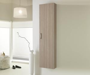 Armario columna con 4 estantes – natural