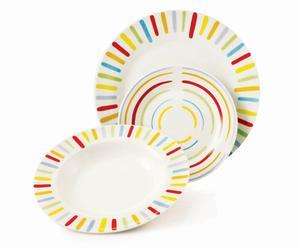 Juego de platos Crayon – 18 piezas