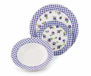 Juego de platos Provence  – 18 piezas