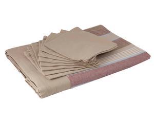 Set de mantel y 8 servilletas Vienna - 150x2240