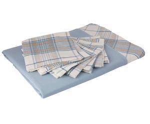 Set de mantel y 6 servilletas Praga - 150x180