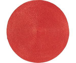 Mantel individual redondo Classic - Rojo