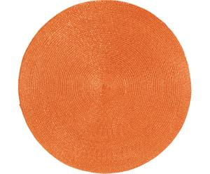 Mantel individual redondo Classic – Naranja