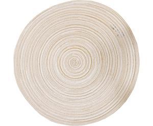 Mantel individual redondo Empreinte – Marfil