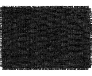 Mantel individual rectangular Rhea - Negro