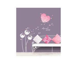 Vinilo decorativo – Corazones rosas