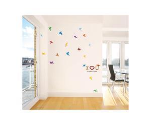 Vinilo decorativo – Pájaros de papel