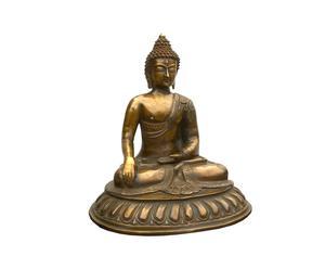 Escultura de bronce TIBET II - dorado