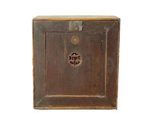 Cofre de madera álamo CHINA - natural