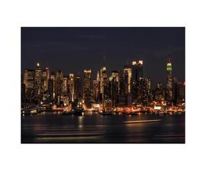 Fotoadhesivo para el salón – NYC Noche