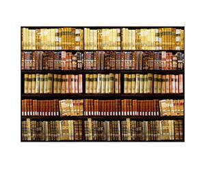 Fotoadhesivo para el salón - Libros