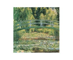 Impresión sobre madera Puente Japonés, de Monet – 70x70