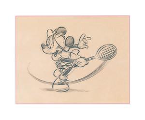 Impresión  sobre madera Minnie – 33x25