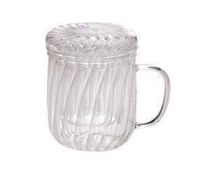 Taza de té con filtro - 330 ML
