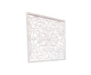Panel cuadrado de madera Anis Deco – 90x90