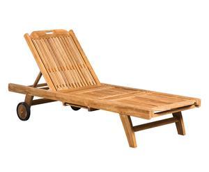 Tumbona de madera