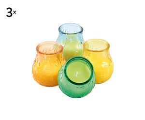 Set de 12 velas perfumadas - citronela