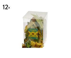 Set de 12 citmix popurrí - citronela