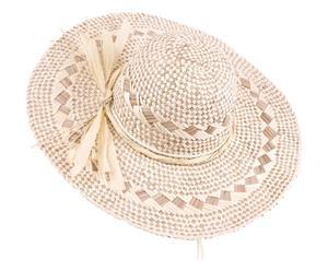 Sombrero de paja rafia - natural