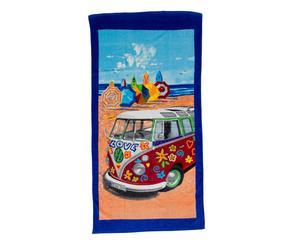 Toalla de playa de algodón Love – multicolor
