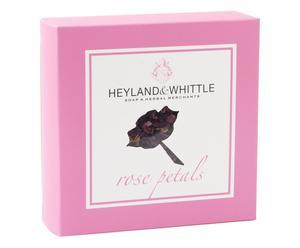 Caja popurrí de pétalos de rosa