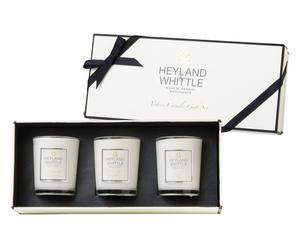 Caja regalo con 3 velas perfumadas
