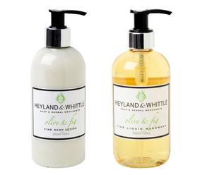 Set Jabón líquido y crema de manos Olive&Fig