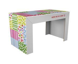 Escritorio de cartón reciclado – patchwork