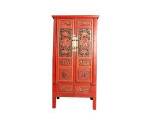 Mueble chino de 1850 - rojo