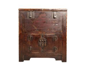 Baúl chino de 1850 - marrón